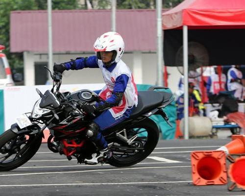 Juara Nasional Safety Riding Honda 2019, Macfud Efendi Rela Berkali-kali Jatuh