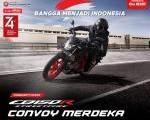 Wahana Bersama AHJ Ajak Komunitas Motor Honda, Hadiri CB150R Convoy Kemerdekaan.