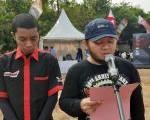 Ketum Saipudin Pembaca Doa Upacara Hari Kemerdekaan di Jamnas ASI.
